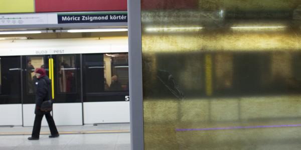 M4 Móricz Zsigmond körtér állomás