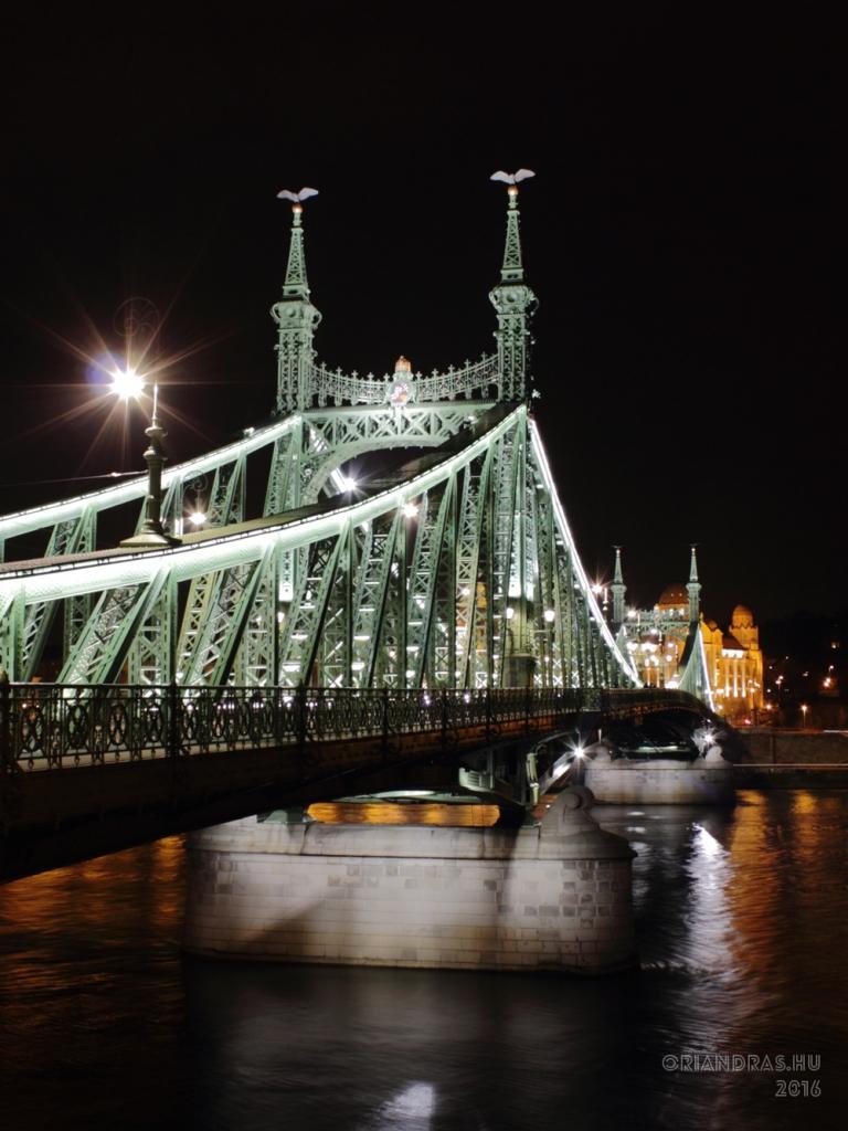 Szabadság-híd, Budapest. Fotó: Őri András - 2016