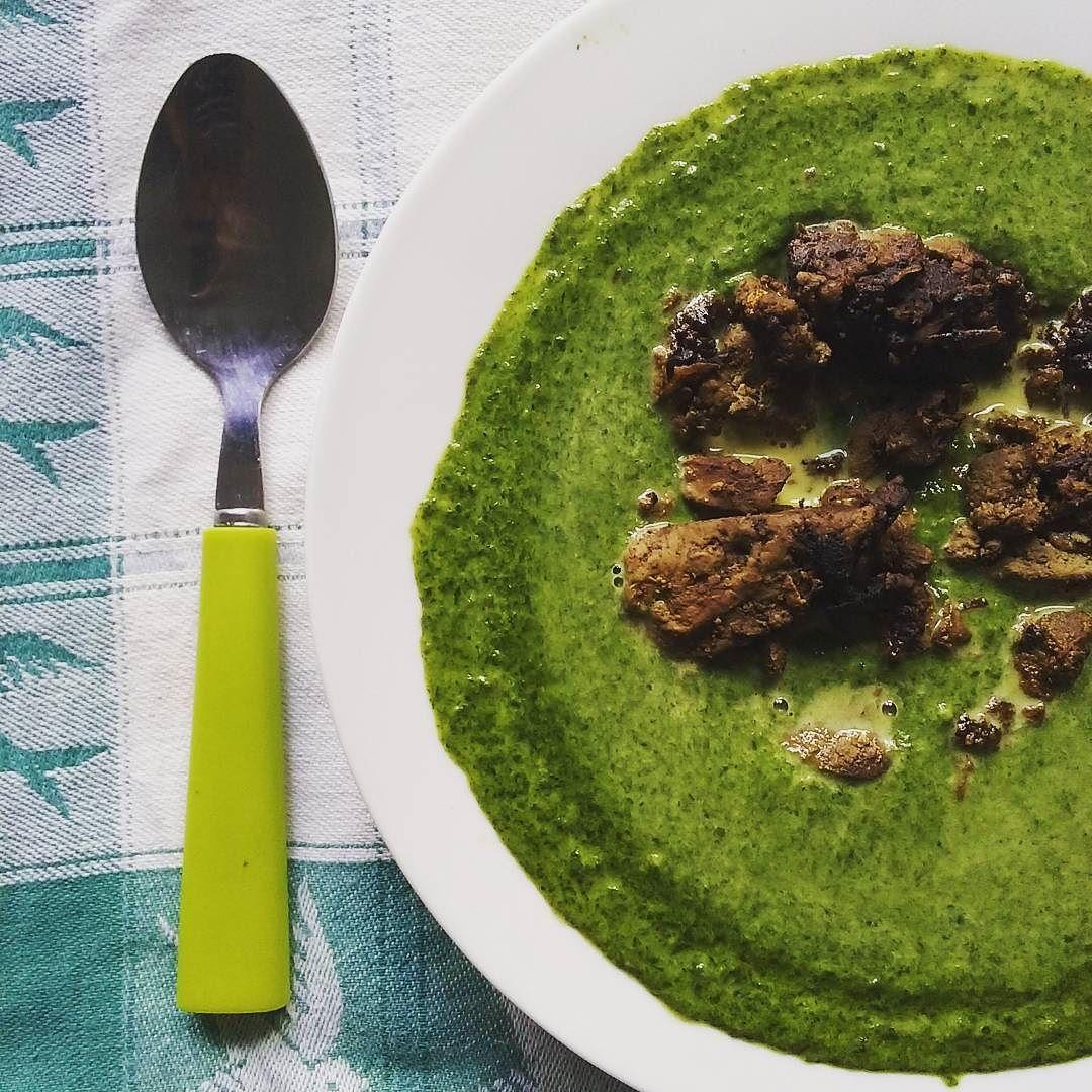 #foodporn #spinach