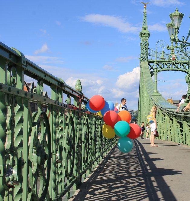 #nofilter #budapest #léggömb #nyár #híd