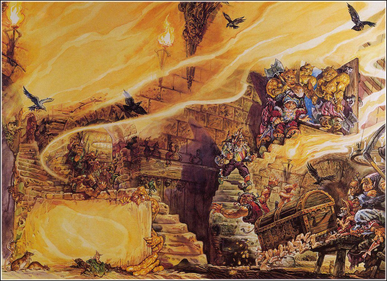 Terry Pratchett: A mágia színe (Korongvilág I.)