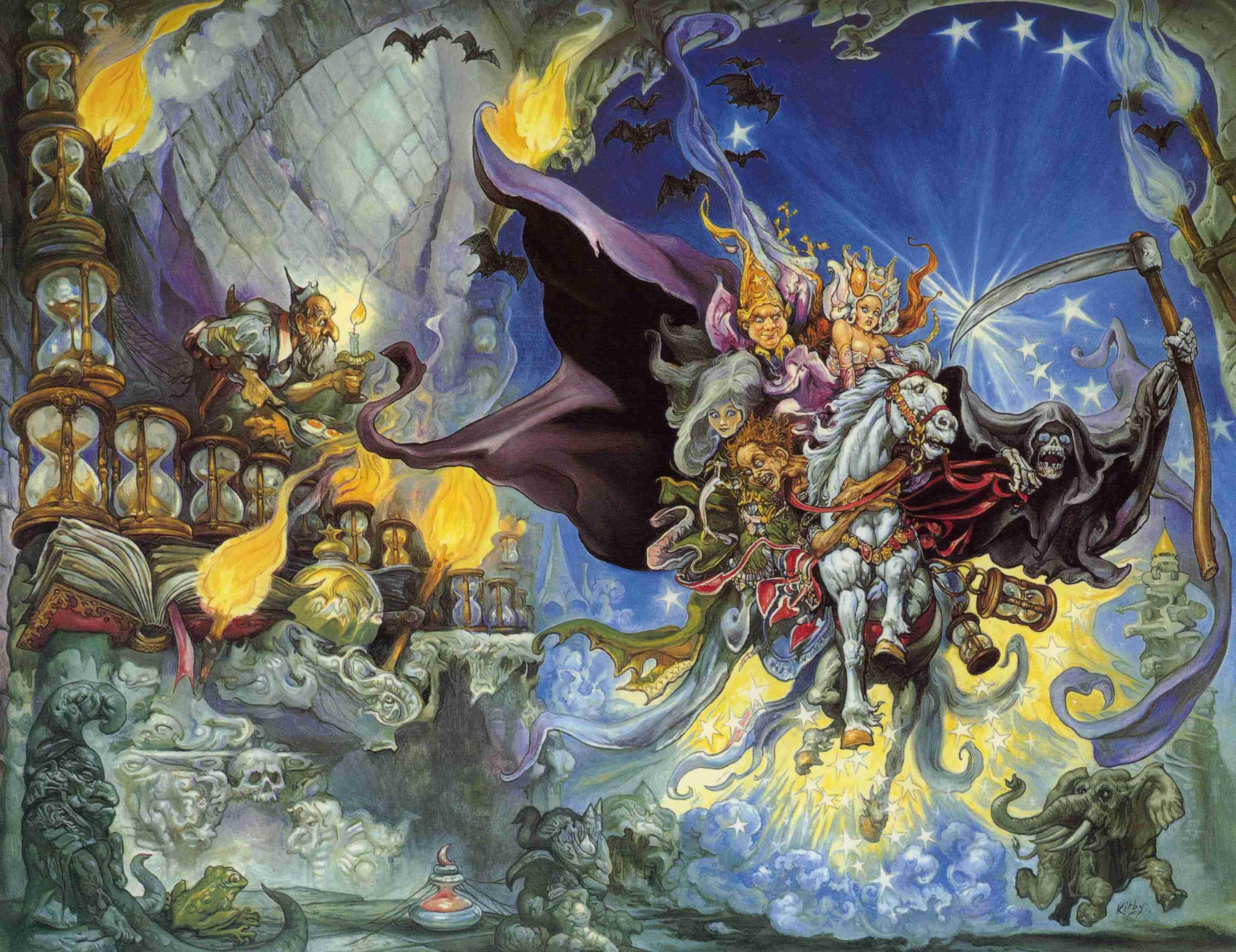 Terry Pratchett: Mort, a Halál kisinasa